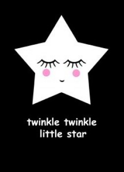 Fabsworld Posterkarte little star