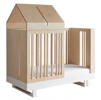 Umbauset Babybett 'roof collection' 140x70cm KUTIKAI
