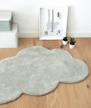 Babyzimmer Teppich Grau