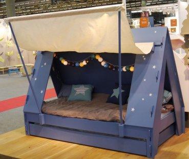 Zelt Bett zeltbett blau mathy by bols lovely