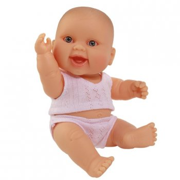 Paola Reina Mini Babypuppe European Girl 21cm