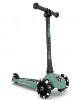 Scoot & Ride Highwaykick 3 LED forest