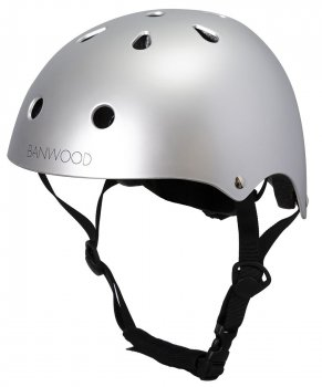 Banwood Kinder Fahrradhelm chrome