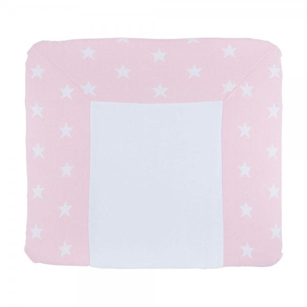 wickelauflagenbezug sterne rosa baby s only lovely little. Black Bedroom Furniture Sets. Home Design Ideas