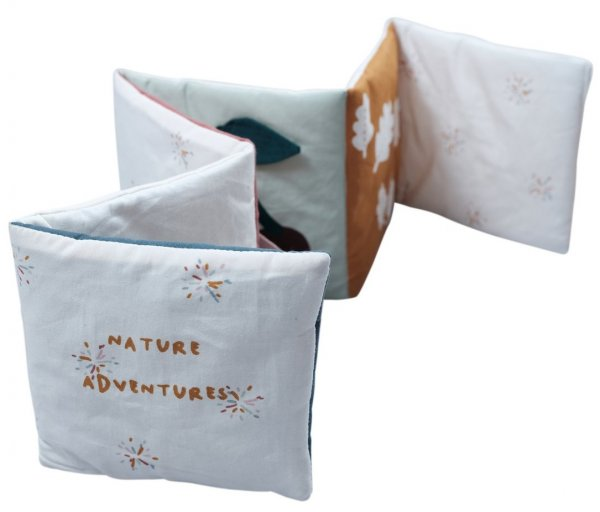 Fabelab Babybuch Stoff Nature Adventure