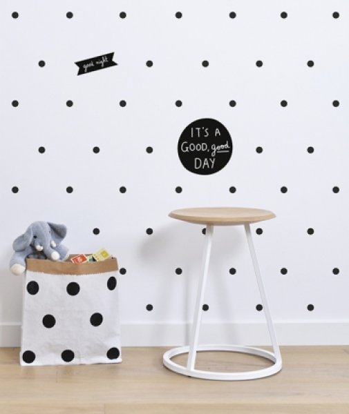 Wandsticker 39 punkte 39 grau lilipinso lovely little - Wandsticker punkte ...