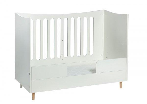 umbaubares babybett 60 x 120cm in wei von manis h lovely little. Black Bedroom Furniture Sets. Home Design Ideas