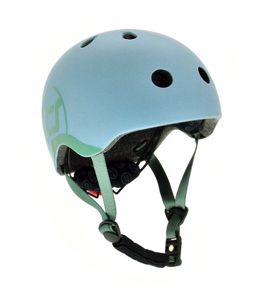 Scoot & Ride Kinder Helm steel